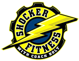 Shocker Fitness w/ Coach Bolt Logo