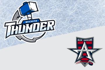 Thunder vs. Allen Americans