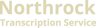 Northrock Transcription Service Logo