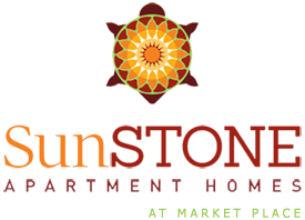SunSTONE Apartment Homes Logo