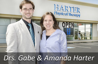 Doctors Gabe and Amanda Harter
