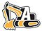 Alan's Excavating Logo