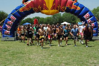 5K Race Starting Line