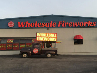 Wholesale Fireworks Store Front