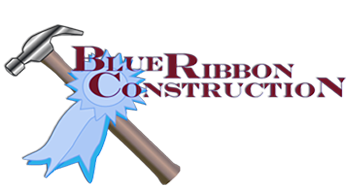 Blue Ribbon Construction Logo