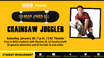Mad Chad the Chainsaw Juggler