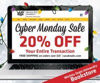 WSU Bookstore Cyber Sale