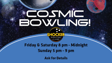 Cosmic Bowling - $2 games