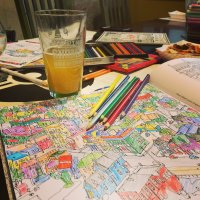 Beer & Coloring Club