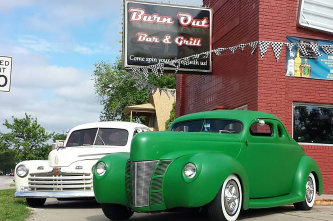 Burn Out Bar and Grill Exterior