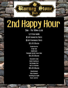 2nd Happy Hour