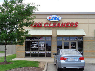 U Save Cleaners Exterior