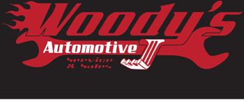 Woody's Automotive Logo