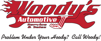 Woody's Automotive Logo