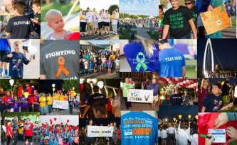 Luekimia & Lymphoma Society Collage
