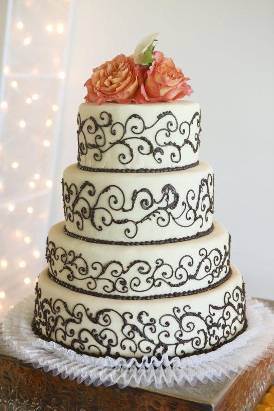 Bagatelle bakery cakes cake gallery flourish rose topped cake mightylinksfo