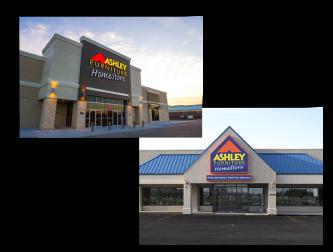 ashley homestore exteriors