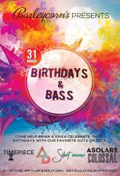 Birthdays & Bass