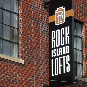 Rock Island Lofts Logo