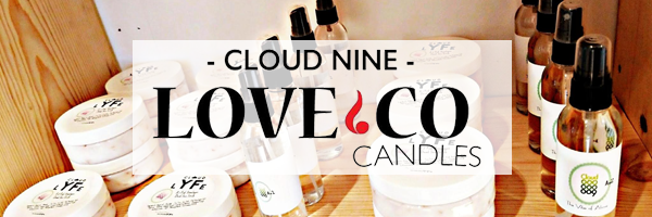 Cloud Nine Love & Co Candles