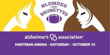 2016 Blondes vs Brunettes