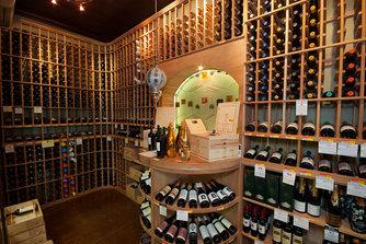 Wine Cellar at Auburn Spirits