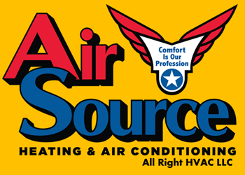 Air Source Heating & Air Conditioning Logo