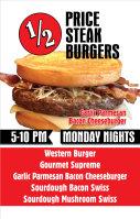 Half Price Steakburgers