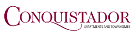 Conquistador Apartments and Townhomes Logo