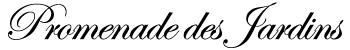 Promenade des Jardins Logo