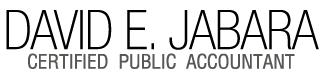 David E. Jabara Certified Public Accountant Logo