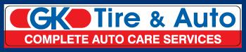 GK Tire & Auto Logo