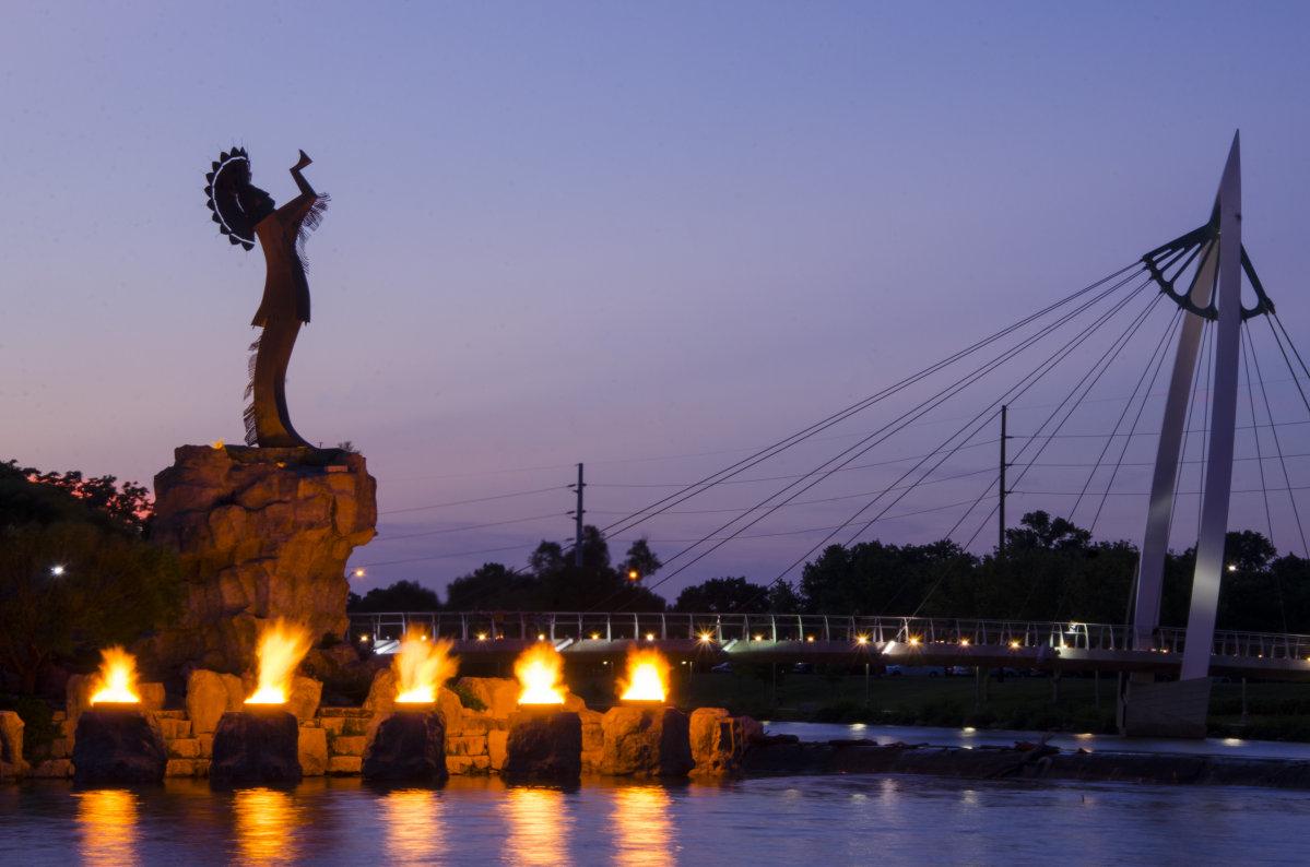 7 Wichita Sculptures