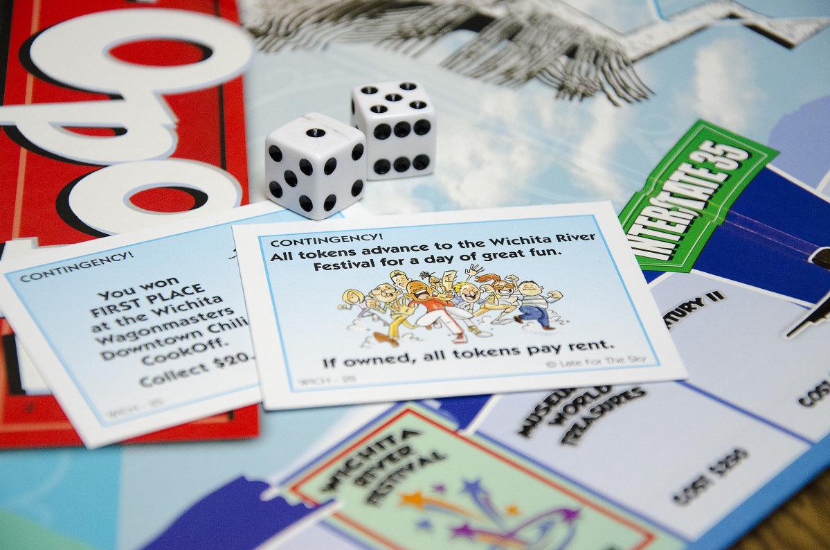 Wichita-Opoly Cards