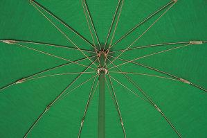 Don't open umbrella indoors.