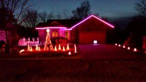 Lights on David Street