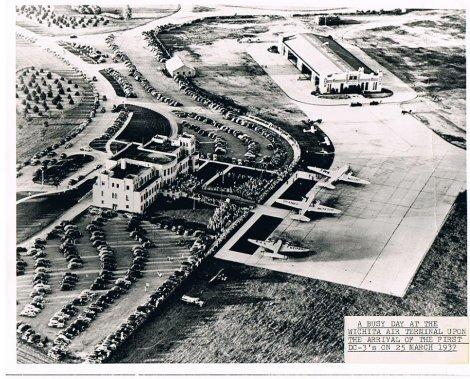 Kansas Aviation Museum Arial