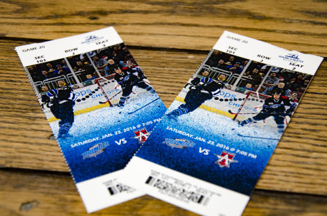 2 Tickets to A Thunder Game