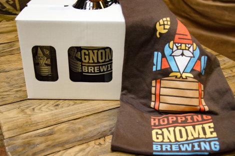 Hopping Gnome Growler Set & T-Shirt