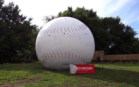 Worlds Largest Baseball