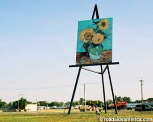 World's Largest Easel