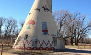 50ft Concrete Teepee
