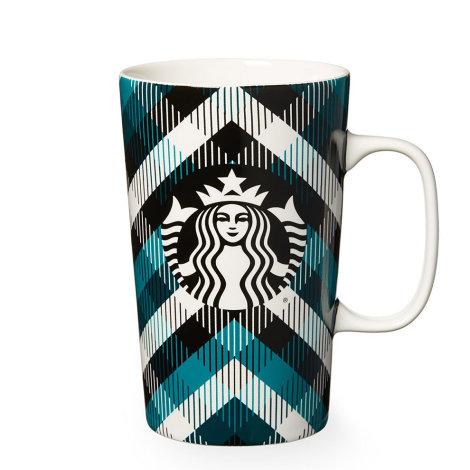 Plaid Starbucks Mug