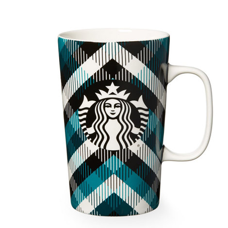 Plaid Starbucks Mug