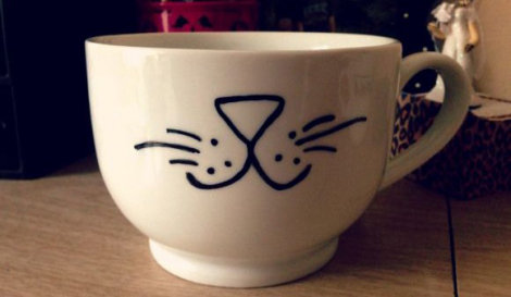 Sharpie Personalized Mug