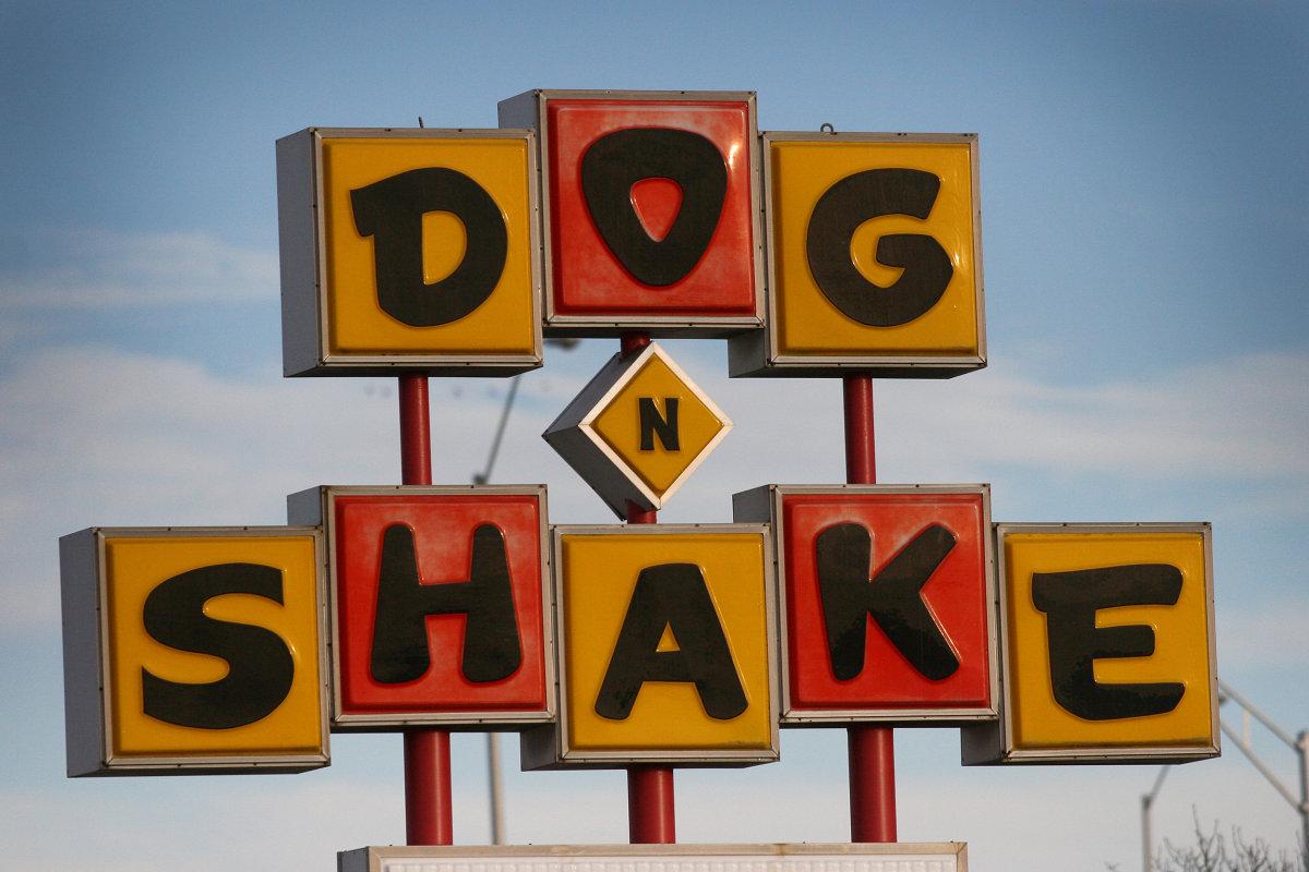 Dog N Shake Sign