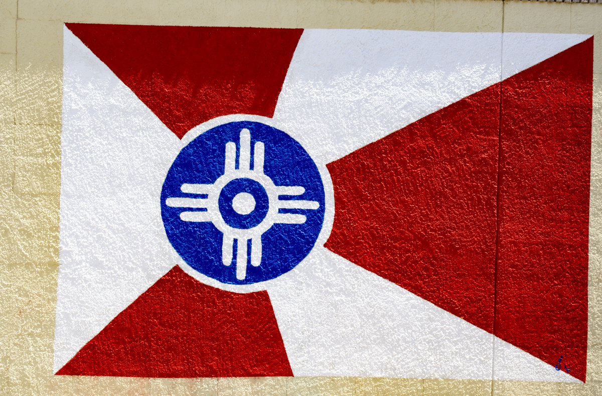 Wichita Flag on Douglas