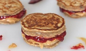 Peanut Butter and Jelly Pancak
