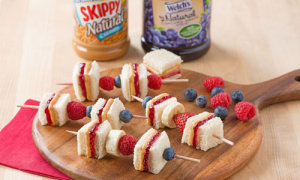 Peanut Butter and Jelly Sandwi