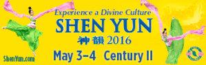 Shen Yun at Century II, May 3-